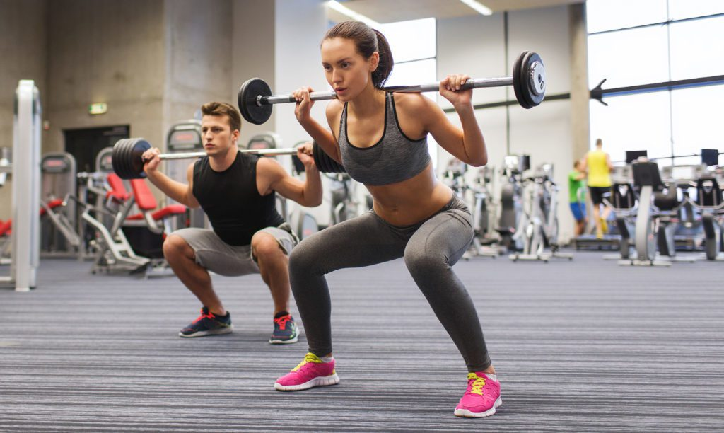 strength training with weights for running